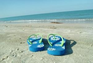 încălțăminte vacanță papuci plaja flip-flops