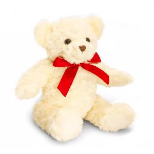 ursuleți de pluș cu fundiță roșie