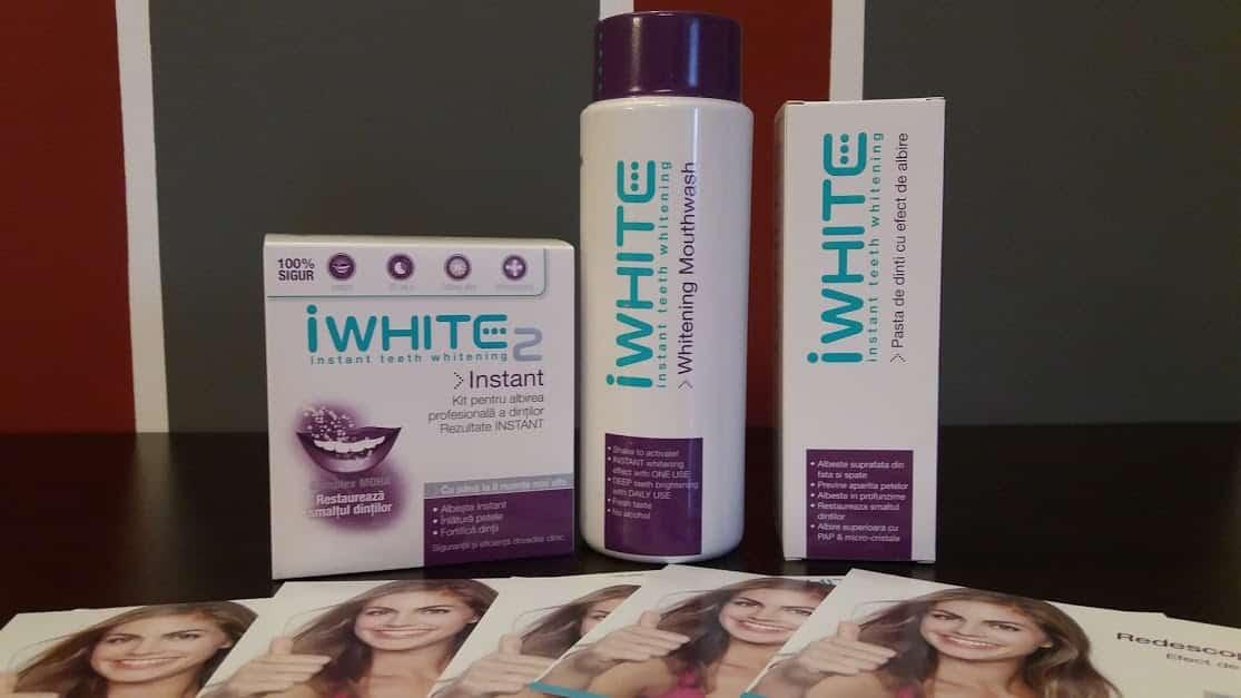 produse albire dentara iwhite fara peroxid