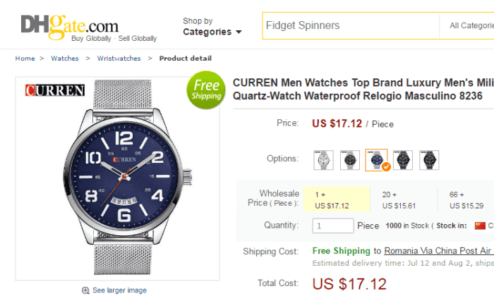 ceas curren preț real