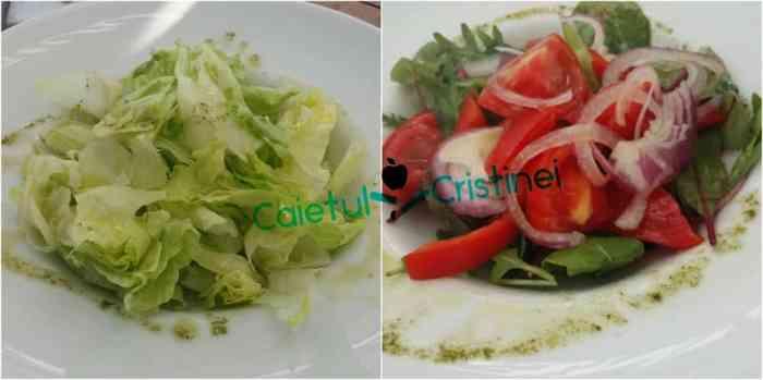 salata verde si salata asortata