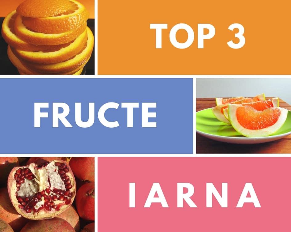 3 fructe pe care le consum în sezonul rece