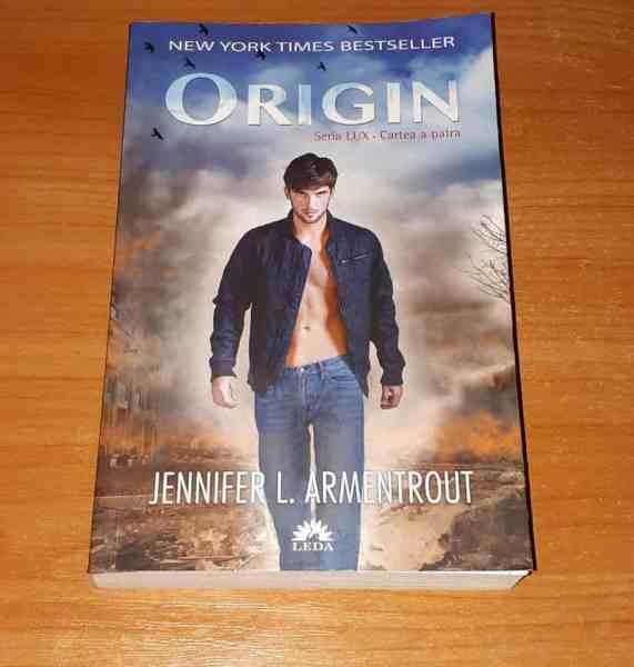 Origin seria LUX Jennifer L. Armentrout
