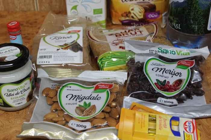 ingrediente sanovita chec cu cacao