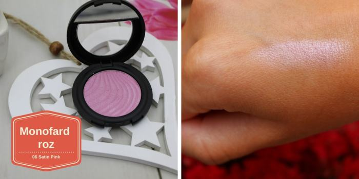 Pink mono eyeshadow Fard de ochi roz Flormar