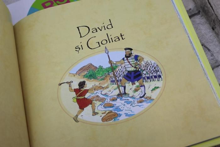 Povestiri biblice pentru cei mici David si Goliath