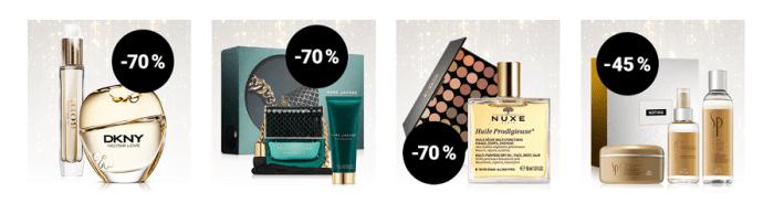 reduceri de Anul nou parfumuri si cosmetice