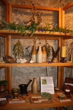 herbal still room