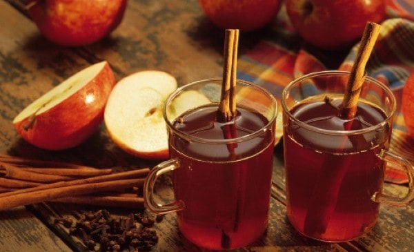 Mulled cider cup