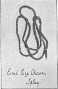 Snaim - Scottish Three Knot Charm - picture from original text