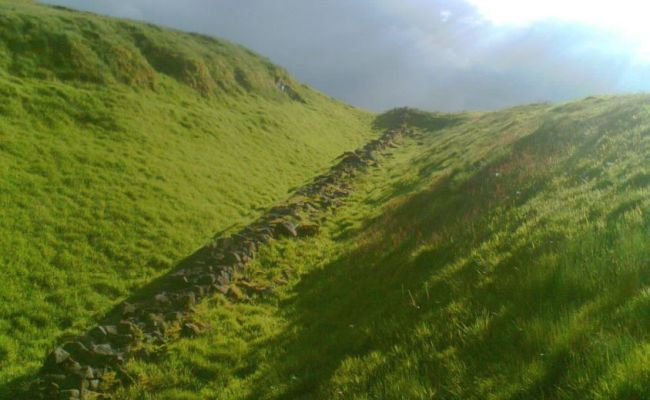 Photographs Map And Information On The Antonine Wall In