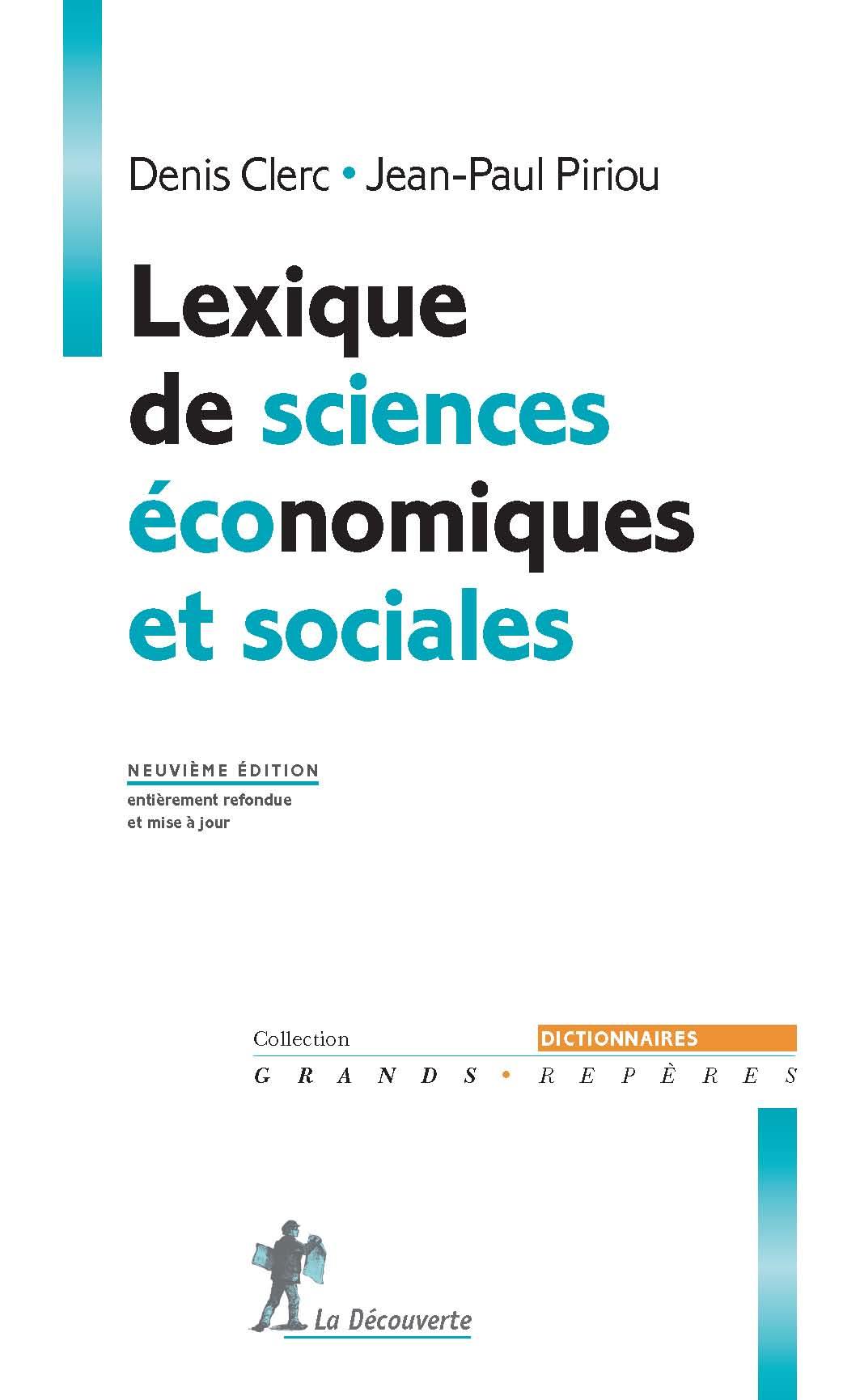 lexique de sciences economiques et