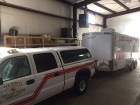 vfd truck and trailer