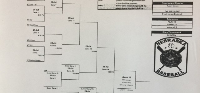 DCB Tournament Schedule