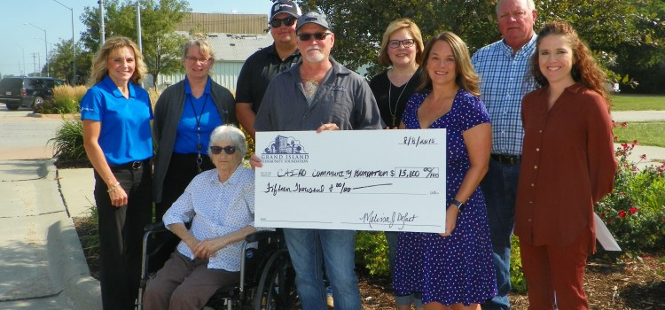 Veterans Memorial Park Award Grant Funds