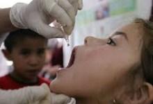 التطعيم ضد شلل الأطفال
