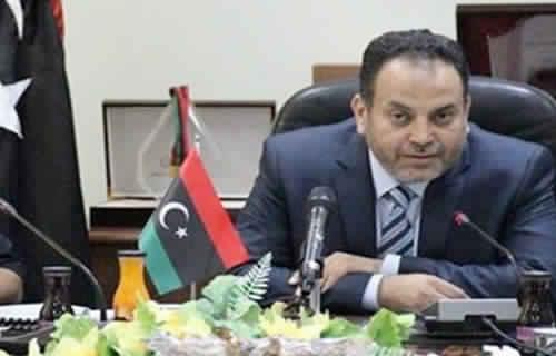 العقيد العارف وزير الداخلية الليبي