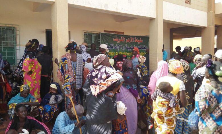 قافلة الأزهر الطبية ببوركينا فاسو