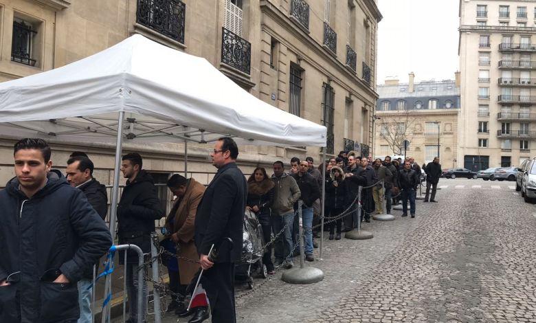مشاركة الجالية المصرية في فرنسا بالانتخابات الرئاسية