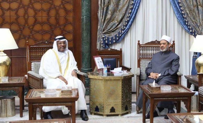 شيخ الأزهر وسفير الإمارات بالقاهرة