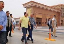 الرئيس السيسي يتفقد أعمال التطوير في طريق القاهرة العين السخنة