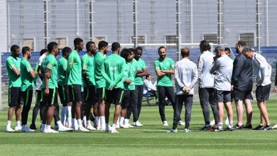 المنتخب السعودي يخوض تدريباته استعدادًا لمواجهة مصر