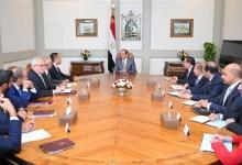 لقاء الرئيس السيسي ونائب رئيس الوزراء الإيطالي