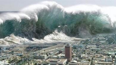 إعصار وزلزال اليابان