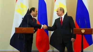 الرئيس الروسي: استئناف الرحلات الجوية قريبا بين مصر وروسيا