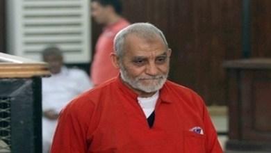 """استئناف محاكمة بديع و 70 آخرين في """"اقتحام قسم العرب"""""""
