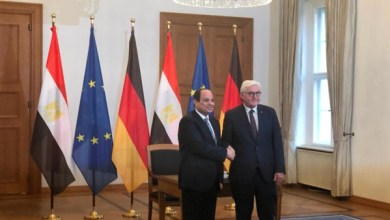 ننشر تفاصيل لقاء الرئيس السيسي ونظيره الألماني في قصر برلين