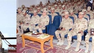 رئيس الأركان يشهد المرحلة الرئيسية لمشروع تدريب تكتيكي بالجيش الثاني الميداني