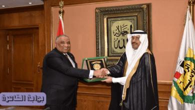 """بالصور.. رئيس هيئة الرقابة الإدارية يستقبل رئيس الهيئة الوطنية لمكافحة الفساد السعودية """"نزاهة"""""""