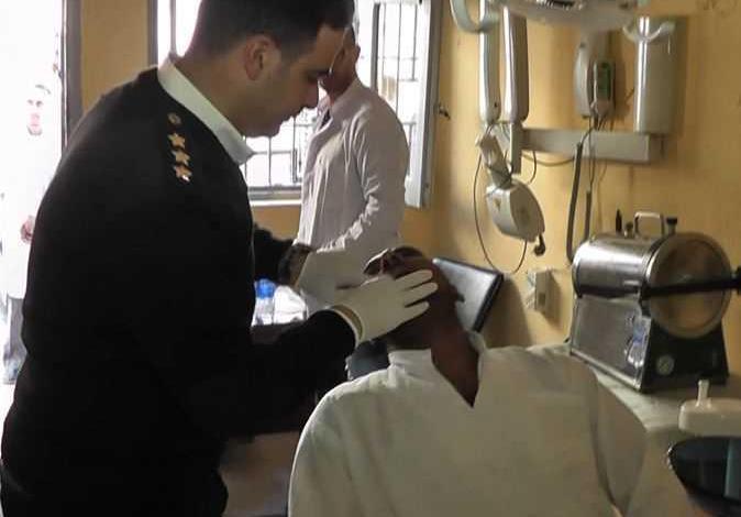 قافلة طبية بمنطقة سجون جمصه لتقديم الرعاية الصحية للنزلاء