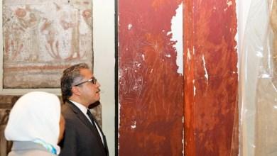 وزير الآثار يتفقد المتحف المصري