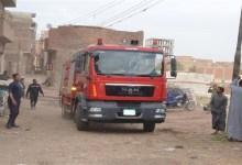 """الحماية المدنية تسيطر على حريق نشب في """"توك توك"""" بطنطا"""