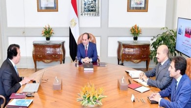 اجتماع الرئيس السيسي مع وزير التعليم العالي