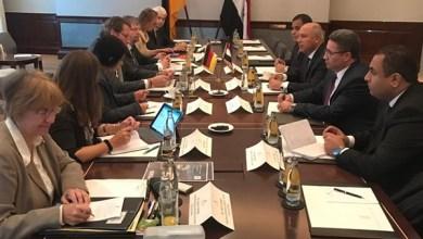 """""""الوزير"""" يبحث مع نظيره الألماني سبل التعاون بين البلدين"""