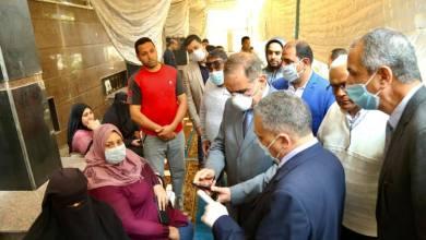 محافظ كفر الشيخ يتابع صرف المنحة للمستحقين من العمالة غير المنتظمة