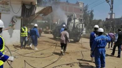 """""""نور الدين"""" يوجه بإستمرار حملات الرش والتطهير في قرى كفر الشيخ"""