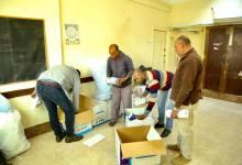 """""""نور الدين"""" يتابع توزيع الكمامات على المراكز والمدن في كفر الشيخ"""