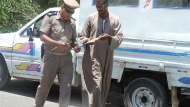 ضبط 920 مخالفة في حملة مرورية مكبرة بكفر الشيخ