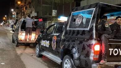 الأمن يضبط 4 أشخاص بتهمة خرق حظر التجوال بالزيتون