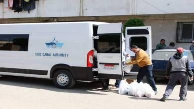 قناة السويس توزع 350 وجبة غذائية في بورسعيد