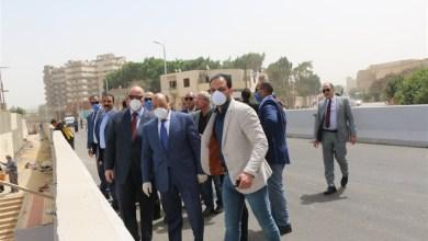 وزير التنمية المحلية ومحافظ القاهرة يتفقدان مشروع كوبري حلمية الزيتون