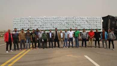 توزيع 32 ألف كرتونة مواد غذائية مقدمة من بنك الطعام بكفر الشيخ