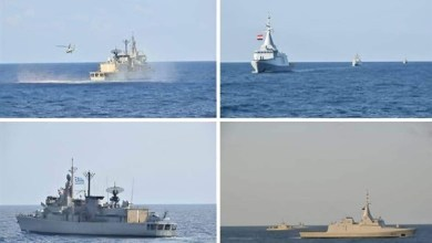 Photo of القوات البحرية المصرية واليونانية تنفذان تدريبًا ببحر إيجه