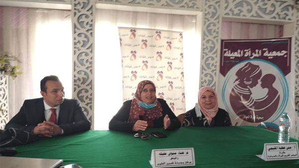 ورش جمعية المرأة المعيلة