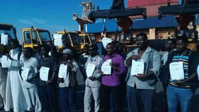 إضراب عمال الميناء الجنوبي بالسودان