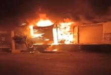 Photo of الحماية المدنية تسيطر على حريق مخزن مواتير في أطفيح
